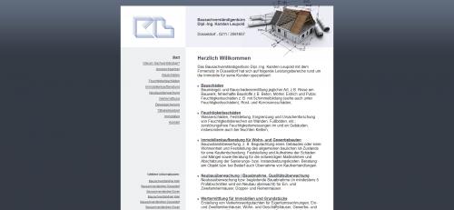 Firmenprofil von: Baugutachter Dipl.-Ing. Karsten Leupold in Düsseldorf