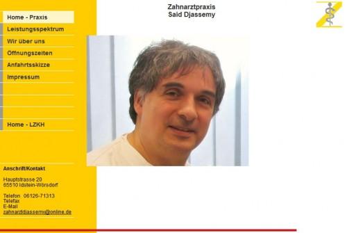 Firmenprofil von: Zahnarztpraxis Said Djassemy in Idstein