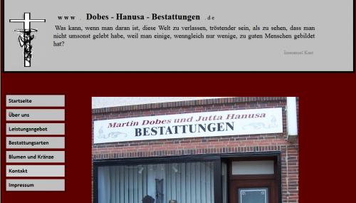 Firmenprofil von: Bestattungsinstitut Martin Dobes und Jutta Hanusa in Bernburg