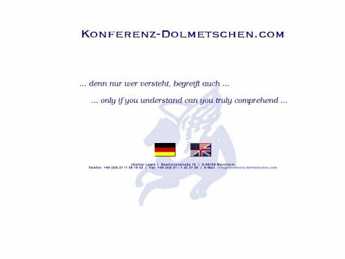 Firmenprofil von: Diplom-Dolmetscherin Esther Lewit in Mannheim