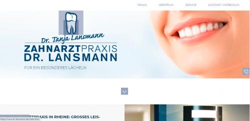 Firmenprofil von: Ihre professionelle Zahnarztpraxis Dr. Lansmann in Rheine