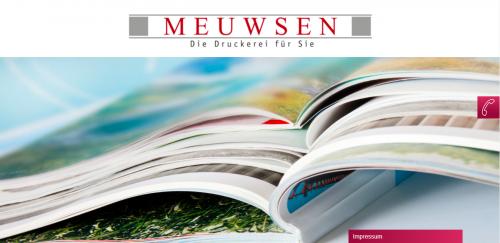 Firmenprofil von: Hochwertiger Digitaldruck in Düsseldorf: Druckerei Meuwsen