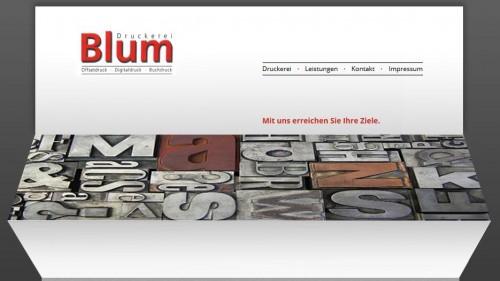Firmenprofil von: Druckerei Blum oHG in Essen