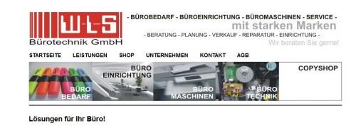 Firmenprofil von: WLS Bürotechnik GmbH in Passau