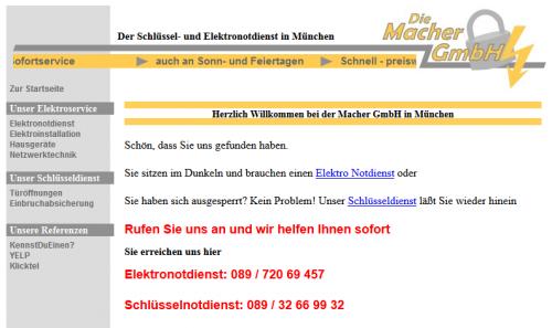 Firmenprofil von: Die Macher GmbH in München