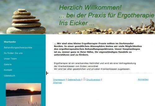 Firmenprofil von: Praxis für Ergotherapie Iris Eicker in Dortmund