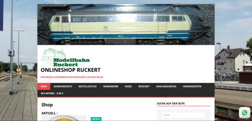 Firmenprofil von: Zubehör für Ihre Eisenbahn bei Modellbahn Ruckert