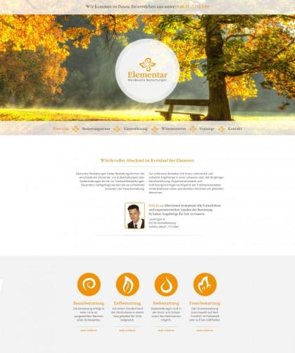 Firmenprofil von: Beerdigungsinstitut Elementar Bestattungen in Aschaffenburg