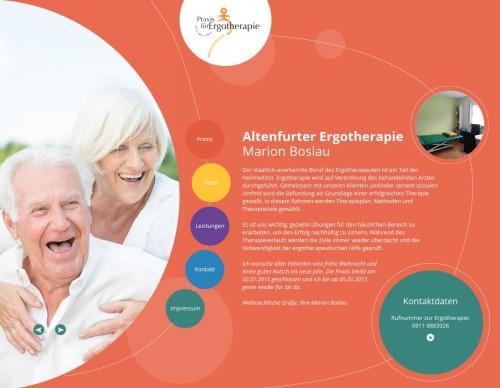 Firmenprofil von: Pädiatrie in Nürnberg: Altenfurter Ergotherapie Marion Boslau