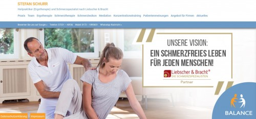 Firmenprofil von: Ergotherapie bei Ulm – Praxis für Ergotherapie BALANCE in Geislingen
