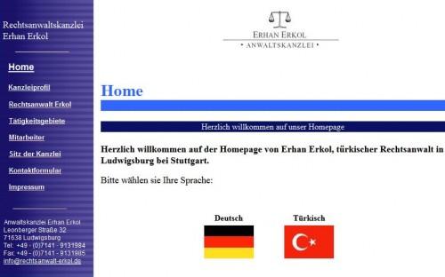 Firmenprofil von: Anwaltskanzlei Erhan Erkol, Rechtsanwalt in Ludwigsburg