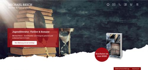 Firmenprofil von: Michael Reich: der Werdegang des Thriller-Autors aus Essen