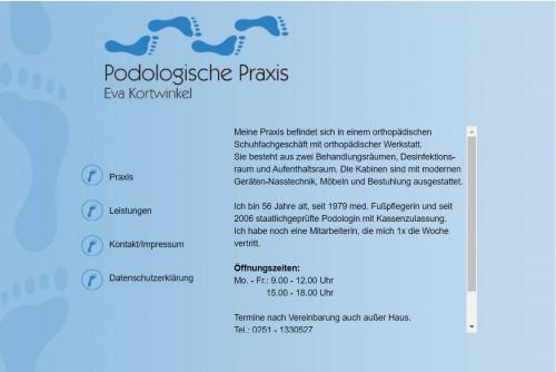 Firmenprofil von: Podologische Praxis in Münster – Eva Kortwinkel