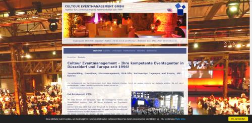 Firmenprofil von: Kompetent und verlässlich: Die Eventagentur Cultour aus Düsseldorf