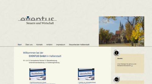 Firmenprofil von: EVENTUS GmbH Halberstadt