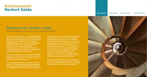 Firmenprofil von: Fachanwalt für Baurecht in Mainz: Rechtsanwalt Norbert Galda