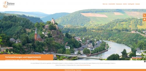 Firmenprofil von: Ihr Hotel in Saarburg: Fährhaus Ferienwohnungen Haalboom