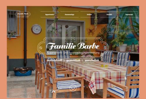 Firmenprofil von: Pension für Monteure in Duisburg: Familie Willi Barbe