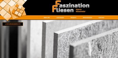 Firmenprofil von: Professionelle Fliesenarbeiten in Rinteln: Faszination Fliesen
