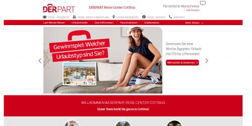 Firmenprofil von: DERPART Reise Center – Ferienwohnungen in Cottbus