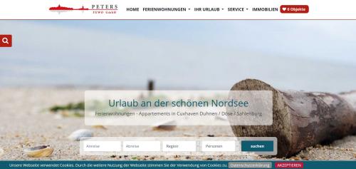 Firmenprofil von: Gemütliche Appartements in Cuxhaven: Peters FEWO GmbH