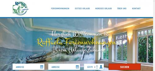 Firmenprofil von: Unterkünfte in Zingst: Raffaela Ferienwohnungen