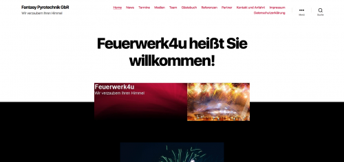 Firmenprofil von: Eindrucksvolle Feuerwerke in Haren und Umgebung: Fantasy Pyrotechnik GbR