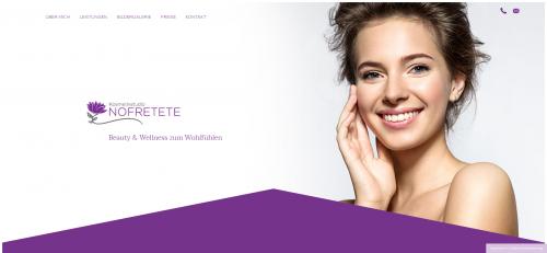 Firmenprofil von:  Ihre Fußpflege in Oberhausen: Kosmetikstudio Nofretete