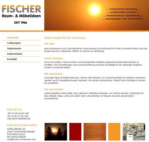 Firmenprofil von: Schreinerei Fischer in Sonthofen/Rieden