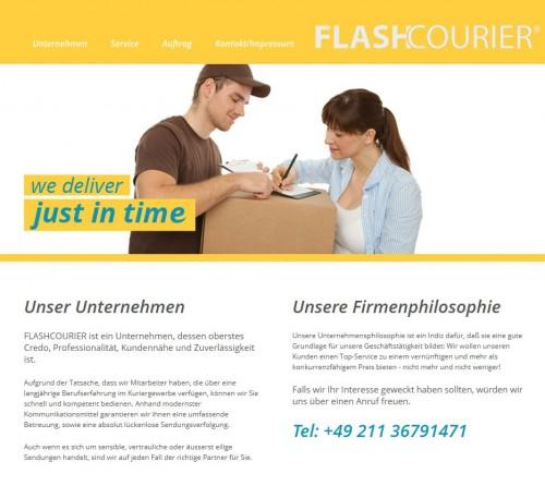 Firmenprofil von: Kurierdienst in Düsseldorf: Flashcourier e.K.
