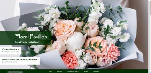 Firmenprofil von: Ihr Partner für liebevolle Grabgestaltung – Floral Pavillon