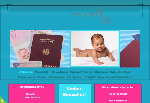 Firmenprofil von: Fotografie AW – Ihr Fotograf in Gröbenzell