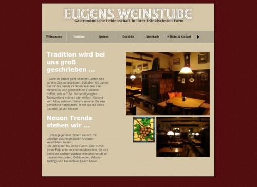 Firmenprofil von: Eugens Weinstube in Ansbach: Ihre fränkische Kneipe