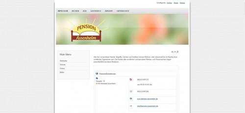 Firmenprofil von: Ihre Unterkunft im Raum Frankfurt: Pension Assenheim
