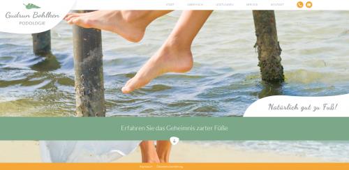Firmenprofil von: Freie Podologin Gudrun Bohlken: die ideale Urlaubsvertretung für Ihre Praxis