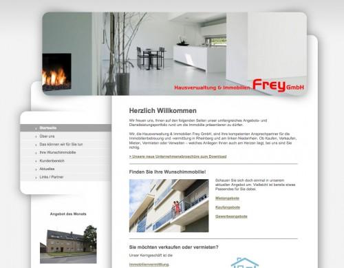 Firmenprofil von: Hausverwaltung und Immobilien Frey in Rheinberg