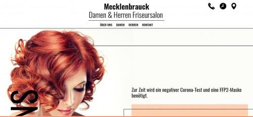 Firmenprofil von: Ihr Friseursalon Mecklenbrauck in Bergkamen