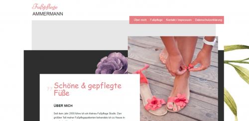 Firmenprofil von: Zarte, gesunde und schöne Füße - Fußpflege Ammermann in Witzenhausen