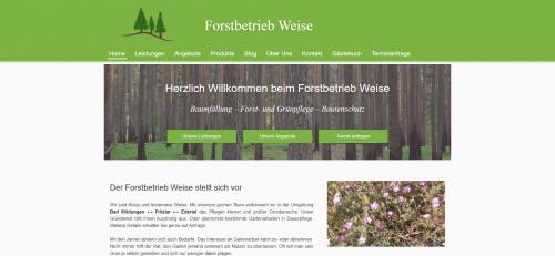 Firmenprofil von: Ihre Grünpflege kann die Firma Weise erledigen - Einfach antesten!