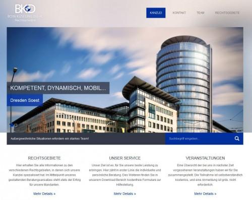 Firmenprofil von: Gesellschaftsrecht in Dresden: Kanzlei BKD Boin Küseling Diehl