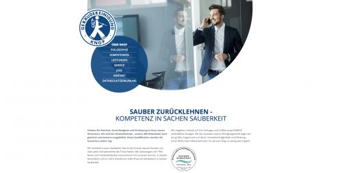 Firmenprofil von: Knop Gebäudereinigung im Raum Walsrode: Für einen sauberen Durchblick
