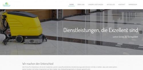 Firmenprofil von: Fachmännische Unterhaltsreinigung aus Gießen – Pro Cleanliness UG