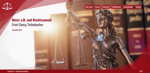 Firmenprofil von: Ihr Experte für Mietrecht in Gelsenkirchen: Rechtsanwalt Tiefenbacher
