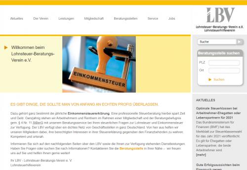Firmenprofil von: Lohnsteuerberatung in Gelsenkirchen – L.B.V Lohnsteuer-Beratung-Verein e. V.