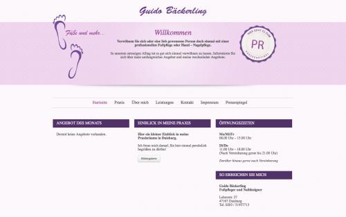 Firmenprofil von: Nagelstudio in Duisburg: Füße und mehr