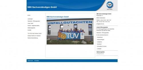 Firmenprofil von: Fachmännisches Gerichtsgutachten in Dillingen: SBS Sachverständigen GmbH