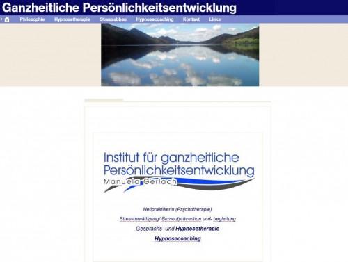 Firmenprofil von: Institut für ganzheitliche Persönlichkeitsentwicklung in Bonn