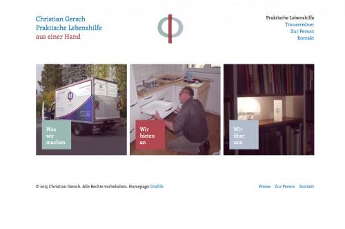 Firmenprofil von: Praktische Lebenshilfe Christian Gersch in Münster