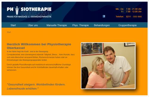 Firmenprofil von: Physiotherapie Oberkassel in Düsseldorf