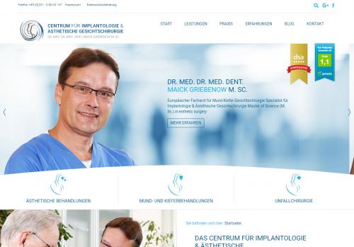 Firmenprofil von: Faltenreduzierung von Dr. Dr. Griebenow in Dortmund